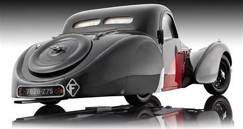バウアー 1/12 ブガッティ atalante type 57sc 完成品. Bugatti Atalante Type 57SC Model Car by Bauer in 1:12 Scale by Bauer