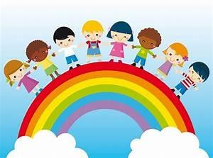 Regenbogen Tapete Kinderzimmer : bestellen sie ganz einfach eine regenbogen mit kindern cartoon fototapete nach ma fototapete ~ Sanjose-hotels-ca.com Haus und Dekorationen