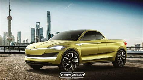Škoda Vision E Jako Pickup Asi Nemá Na Výrobu šanci Jak