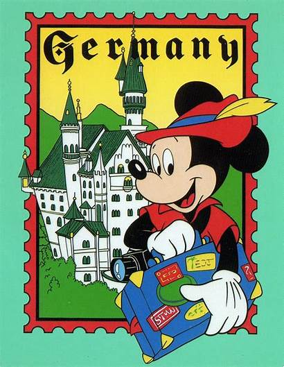 Disney Mickey Epcot Germany Postcard Mouse Flickr
