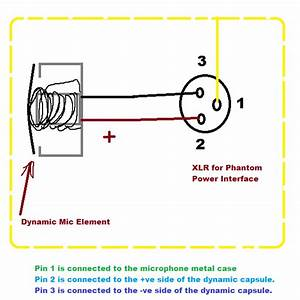 Phantom Power Xlr Wiring Diagram