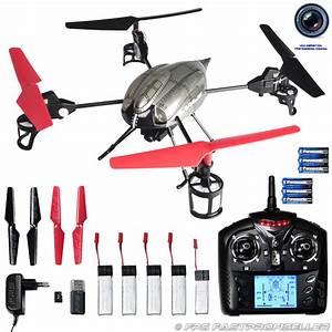 Günstige Drohne Mit Guter Kamera : rc drohne quadrocopter ufo drone xl 37cm mit qhd video kamera rtf komplett set ebay ~ Kayakingforconservation.com Haus und Dekorationen