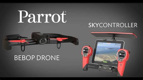 parrot bebop drone skycontroller coming  youtube
