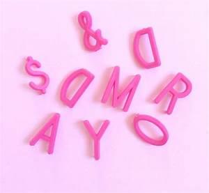 letter board omm design With letter board pink