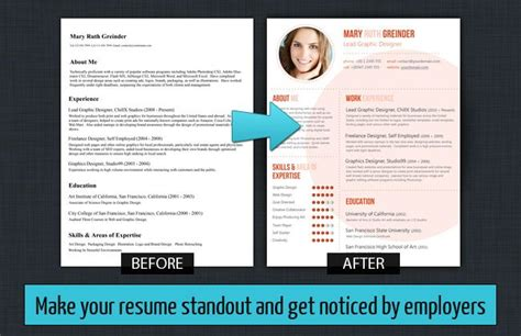 How To Make Resume Attractive by Make Your Resume Standout Resume Baker Custom Resume