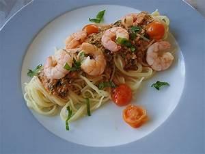 Pasta Mit Garnelen : spaghetti mit garnelen in tomaten rahm so e und b rlauch rezept mit bild ~ Orissabook.com Haus und Dekorationen