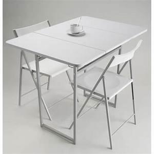 Table A Manger Pliante : table de repas pliante 2 chaises jane achat vente ~ Melissatoandfro.com Idées de Décoration