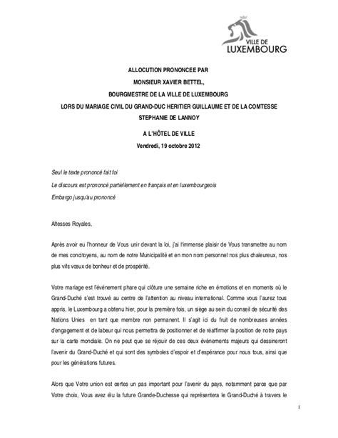 discours du maire mariage 0037 19 10 2012 discours mariage princier xavier bettel
