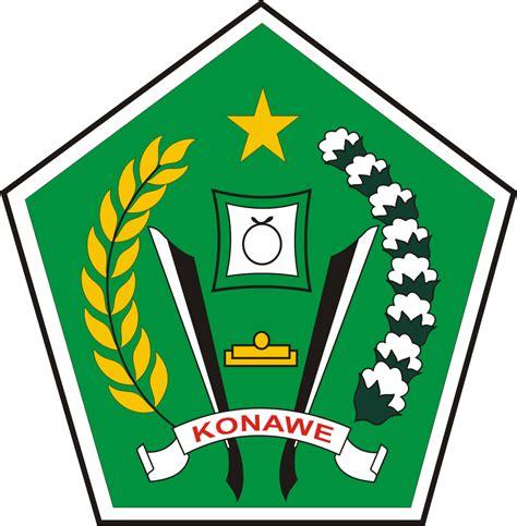 logo kabupaten konawe kumpulan logo indonesia
