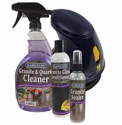 Granite Countertop Kit Marblelife Buffer Care Cleaner