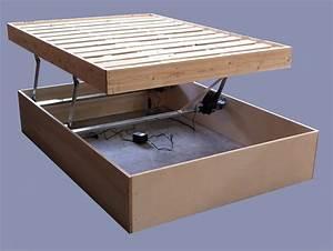 Lit A Coffre : fabriquer lit coffre rm33 jornalagora ~ Teatrodelosmanantiales.com Idées de Décoration