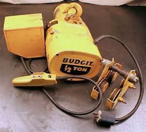 Budgit Hoist Parts Diagram