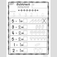 Basic Subtraction To Ten With Picture Supportset 2  Math  Subtraction Worksheets, Subtraction