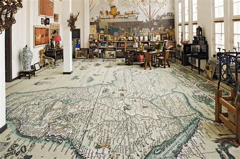 Tapis Salon Carte Du Monde by Picture Of The Day Coolest Carpet 171 Twistedsifter