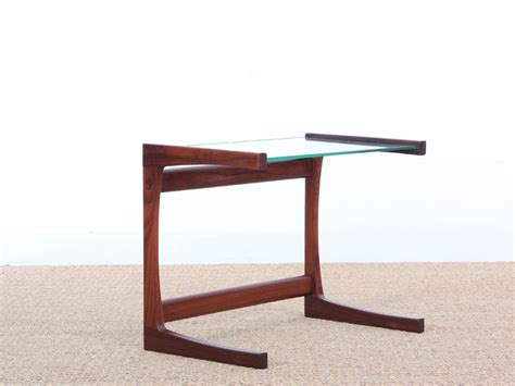 small glass side table small danish teak glass side table 1960s for sale at pamono
