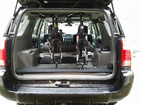 car interior bike rack design ideas