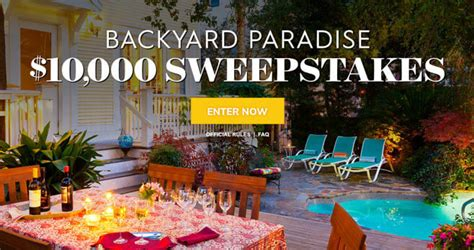 homes  gardens  summer sweepstakes bhgcom