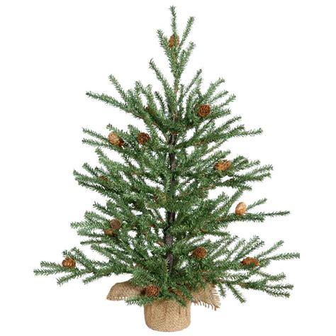 1 5 foot carmel christmas tree with cones unlit b803919