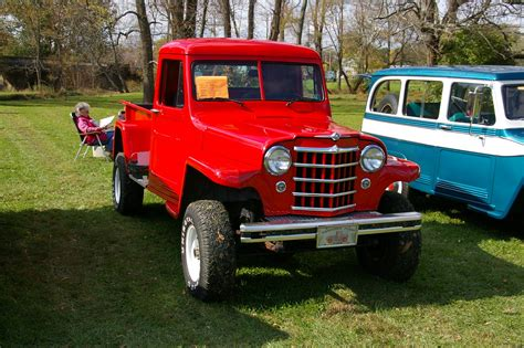 willys jeep pickup truck  annual mason dixon willy flickr