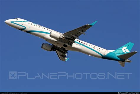 Embraer 190-200lr Operated By Air Dolomiti Taken