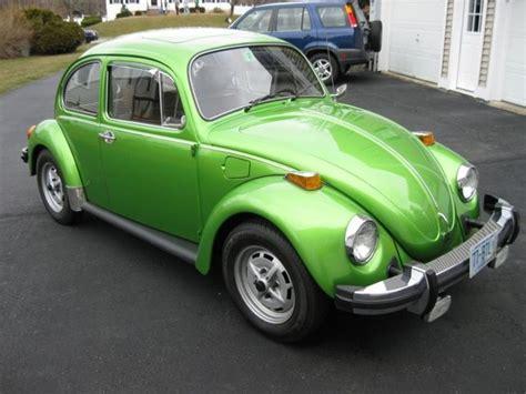 volkswagen green viper green 77 vw beetle cars pinterest