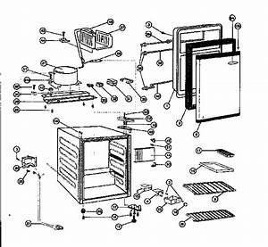 Kenmore 46195332 Compact Refrigerator Parts