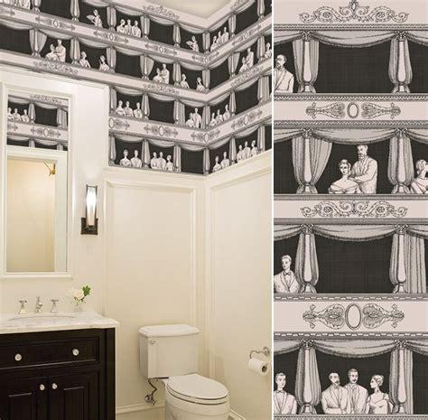 papier peint toilette papier peint teatro cole and pour les wc papier peint papier peint toilettes et papier