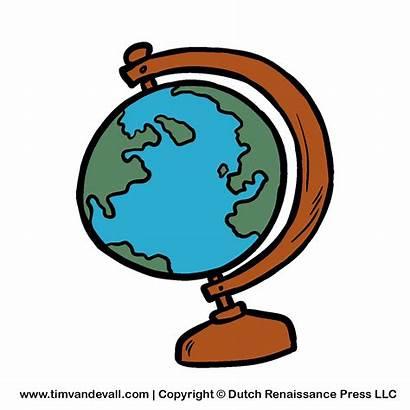 Studies Social Clipart Clip Globe Cartoon Cliparts