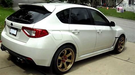 subaru wrx limited edition  mods youtube