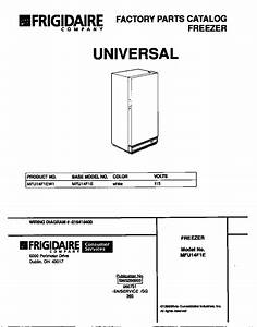 Universal  Multiflex  Frigidaire  Upright Freezer