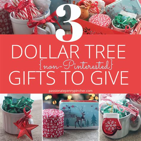 3 dollar tree non pinterested gifts to give passionate