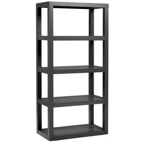 Parsons Bookcase by Home Decorators Collection Parsons Black Open Bookcase