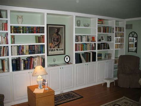 Built In Bookcases by Built In Shelving Building