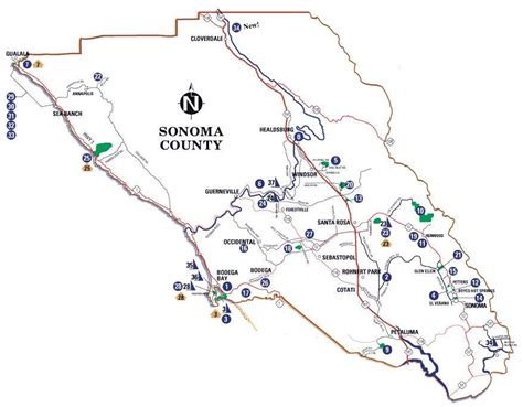 California Wine Country Tour Map Pictures To Pin On