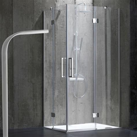 doccia 70x100 doccia per bagno 70x100 senza telaio in cristallo 6mm kv