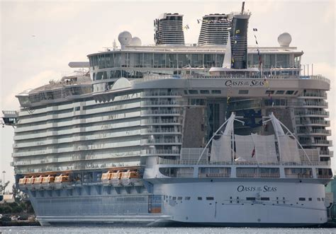 Oasis Of The Seas - Itinerary Schedule Current Position ...
