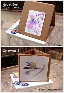 Staffelei Für Kinder : diy kids 39 cardboard art easel kleine kinder gro e k nstler pinterest staffelei kinder ~ Buech-reservation.com Haus und Dekorationen