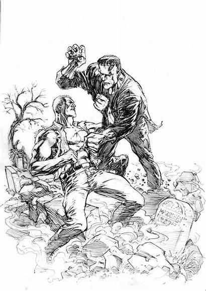 Savage Doc Frankenstein Deviantart Artwork Professional Comic
