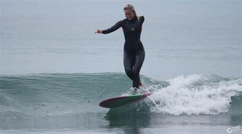 Bethany Hamilton Leg Amputee Share Inspiring Surf