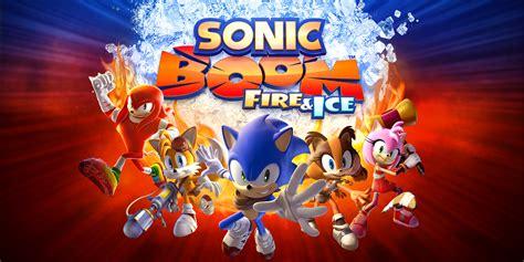 sonic boom fire ice nintendo ds games nintendo