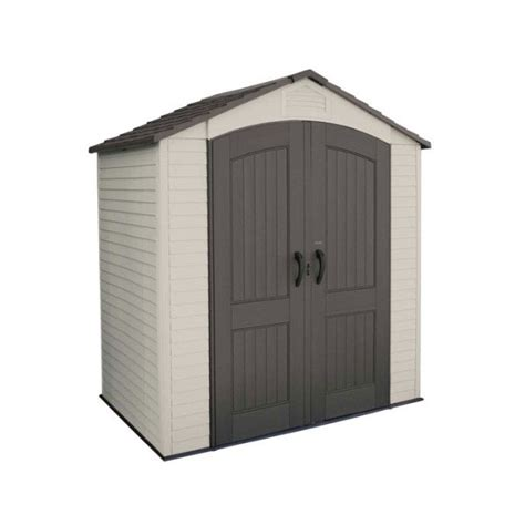 Shelterlogic Shed In A Box Round Top by Lifetime 7 X 4 5 Ft Outdoor Storage Shed Kit 60057