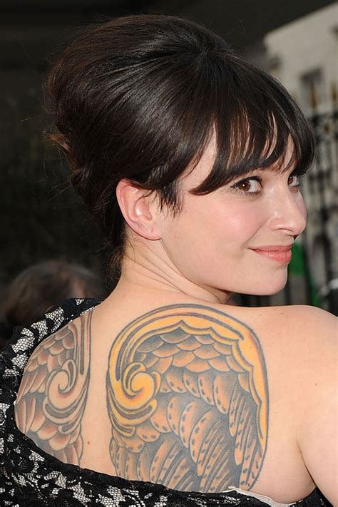 gizzi erskines tattoos meanings steal  style