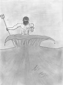Poseidon, Greek God of the Sea by maydae503 on DeviantArt