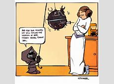 Star Wars and Calvin and Hobbes Combine in Awesome Fan Art