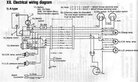 yanmar hitachi alternator wiring diagram somurich