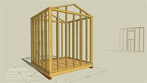 Simple Instructions For How To Frame A Shed