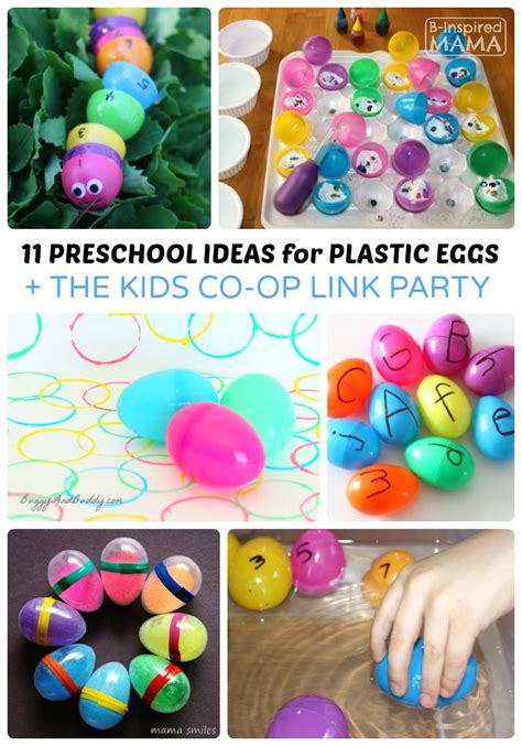 hop to easter day food family the hooting post 326 | 11 Preschool Easter Activities using Plastic Eggs The Kids Co Op Link Party at B Inspired Mama
