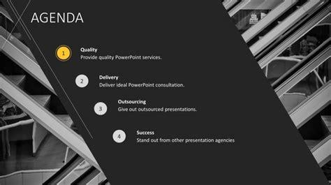 corporate agenda powerpoint  slidestore