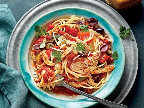 pasta recipes myrecipes