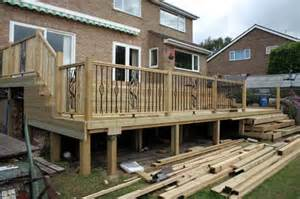 Pictures Of Raised Decks by Peg Services 187 Raised Decks